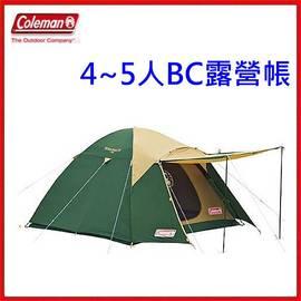 美國 Coleman 4 ^~ 5 人CROSS 露營帳篷  ^~CM~7132J 附當月