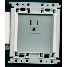 國際牌 家庭保安燈用~ 插座~1地插WTFF4096W