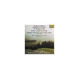 佛漢.威廉士:泰利斯主題幻想曲╱巴伯:弦樂的慢板╱佛瑞:巴望舞曲 ^(CD^)李奧納德•史