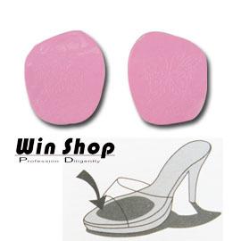 【winshop】日韓超熱賣~ 粉色美麗蝴蝶圖案! 鞋子防滑墊/鞋墊