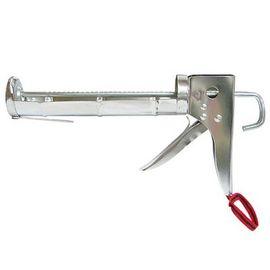 鍍鉻附刀矽利康槍★居家黏著修繕必備品★修補實用工具★DIY使用好方便