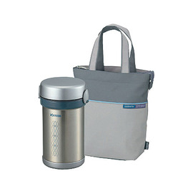 ↘點我再折扣↙【象印】《ZOJIRUSHI》不銹鋼保溫便當盒◆附提袋《SL-NC09》