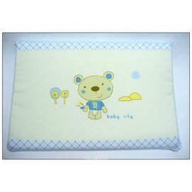 Baby City娃娃城 摩登熊嬰兒乳膠塑平枕
