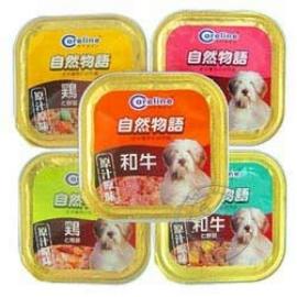 Careline~自然物語 犬用餐盒80g  5種口味~24盒