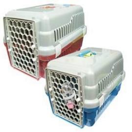 寵物 雙開門運輸籠644A•  2種顏色