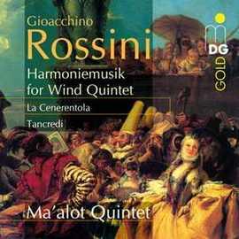 羅西尼:木管音樂  CD 馬爾勒特五重奏Gioacchino Rossini:Harmon