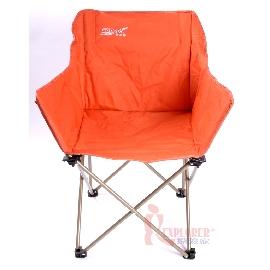 DJ520時尚休閒椅(橘色)附收納袋(耐重120kg)