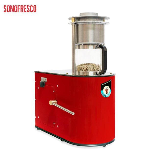 美國 ~sonofresco~浮風式電腦烘焙機  0.5kg  紅色