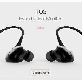 ~宏華資訊廣場~iBasso IT03 單圈雙動鐵 三單體耳機 店面 展示試聽