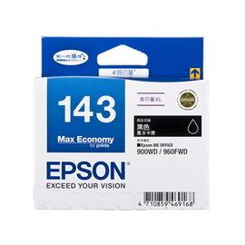 EPSON 墨水匣T143150 No.143 高印量XL黑色墨水匣