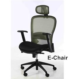 E~Chair 網椅 HAWJOU 豪優人體工學椅