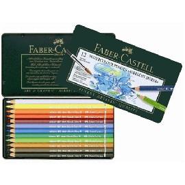 Faber~Castell輝柏 ARTISTS藝術家級 級水彩色鉛筆12色^(117512