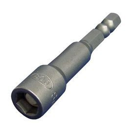 六角磁性套筒10mm(1入)★內植磁鐵 不輕易鬆脫 ★磁性強易吸附 快速省時★台灣製造 品質保證