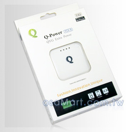 【贈usb充電器】QYG Q-Power FC6-B For iPhone HTC Nokia Sony Ericsson MOTO 移動電源/隨身充/應急充/便利充