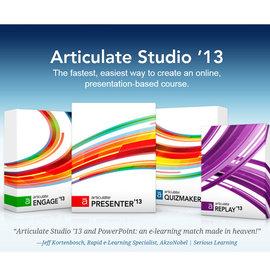 Articulate Studio 13 Pro 單機版 ^(教育版^)