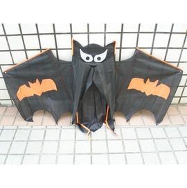 蝙蝠風箏 蝙蝠 風箏^(立體布面.碳纖維架133cm x 85cm^) 一支入^~定180