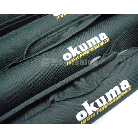 ~百有釣具~寶熊 okuma簡易硬式釣竿攜行筒 PVC 砲筒竿袋 50公分蝦竿 ^~耐壓耐