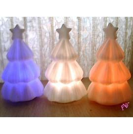 七彩聖誕樹蠟燭燈~七彩變色!   ◇會場佈置/婚禮小物