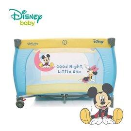 麗嬰兒童玩具館~迪士尼專櫃米奇MICKEY//小熊維尼雙層遊戲床-