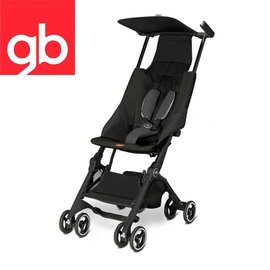 【Goodbaby】Pockit 折疊嬰兒手推車(黑色) MONUMENT BLACK 616230001(預購10月到)