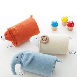 日式 可愛動物造型嬰兒多用空調毯/可愛動物護膝毯◇/可愛動物毛毯/日系兔子毛毯/蓋毯/冷氣毯/保暖毯/嬰兒被單/嬰兒毛毯