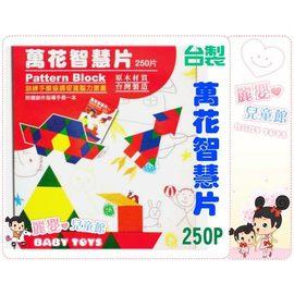 麗嬰兒童玩具館~幼兒園推薦-寶貝的萬花智慧片-250PCS(台灣製)七巧板空間組合拼圖