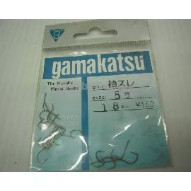 ◎百有釣具◎日本gamakatsu 袖原廠鉤 買五送ㄧ