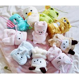 日式可愛到爆 動物造型兒童多用空調毯/可愛動物護膝毯◇/可愛動物毛毯/日系兔子毛毯/蓋毯/冷氣毯/保暖毯/嬰兒被單/嬰兒毛毯
