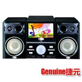 【捷元】內建7吋LCD◆數位電視/DVD組合音響《GA-DV8120U》