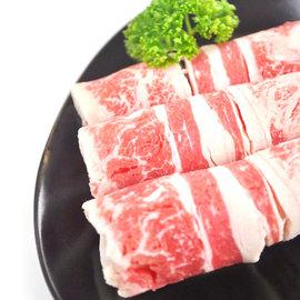 ~美國 檢驗合格~安格斯雪花牛肉片^(300g±5^% 份^)~快炒、火鍋,不可或缺的食材