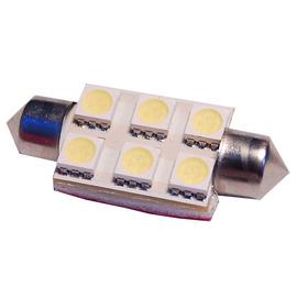 TTLUX 雙尖36mm 6SMD 固定式 無需轉接頭 車內燈 閱讀 牌照 後行李箱