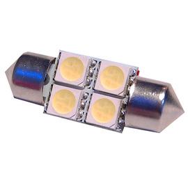 TTLUX 雙尖31mm 4SMD 固定式 無需轉接頭 車內燈 閱讀 牌照 後行李箱