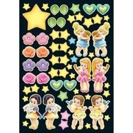 迪士尼~Q甜美小公主~ 夜光壁貼 讓女孩們的房間變更可愛吧~吊飾~掛飾~DIY =CIO情