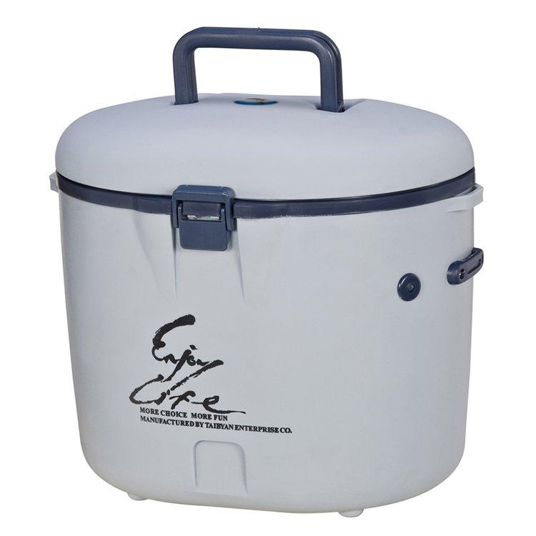 ◎百有釣具◎冰寶系列 TH-080冰箱~冰桶8升~最適合中小家庭戶外休閒活動