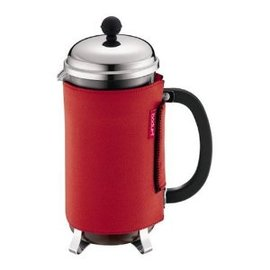 Bodum Nero Thermal Neoprene 8-Cup French Press Coffee Coat彩色法式濾壓壺隔熱套