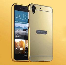 【 鋁邊框+背蓋】HTC Desire 728/D728x 防摔鏡面殼/手機保護套/保護殼/硬殼/手機殼/背蓋