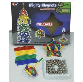 磁棒磁珠建構積木^(WITKA^)~從 中學習建構概念與空間邏輯~
