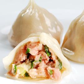 █ 亞美の招牌鮮肉湯包 █(50粒 包)CAS優良肉品、新鮮青蔥