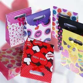 【winshop】(大)可愛黏式禮物袋/禮品袋/飾品袋,讓妳/你送禮方便不失禮,生日、情人節、各種節慶最佳禮贈品