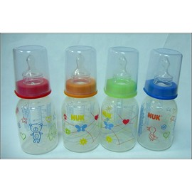 NUK PP一般口徑印花奶瓶(110ml)