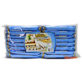 【吉嘉食品】特級威化捲心酥(巧克力/起司/牛奶 分開三種) 每包600公克105元,爆漿捲心酥
