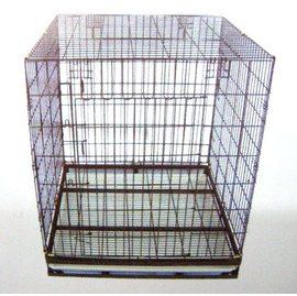 ~免 ~靜電烤漆摺疊籠~3尺^~3尺狼犬籠^(TA02^)╱狗屋╱狗籠