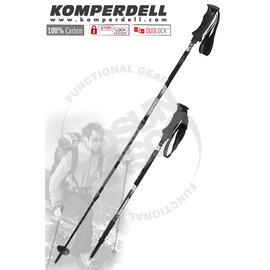 【KOMPERDELL 奧地利】超輕碳纖維無避震登山杖 C3 Duolock (非LEKI 單支)#1752409-10
