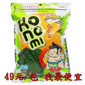 《KONOMI》熱銷補貨到▼一包$49▼相撲手脆海苔-原味(50g) 脆海苔 脆紫菜^泰國^★破盤價/PCHOME我最便宜