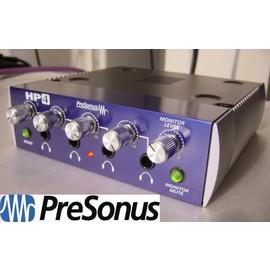~舒伯樂 ~ 樂器.錄音.音響 ~PreSonus HP4 錄音室 級監聽耳機分配器 放大