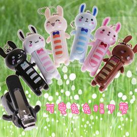 【winshop】日韓超熱賣~可愛兔兔迷你指甲剪/指甲刀~隨身攜帶,外出方便,送禮自用兩相宜