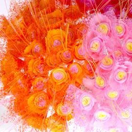 【WIN SHOP】☆100枝含運☆精緻手工玫瑰花~可當婚禮小物/居家裝飾品/拍照攝影/新娘捧花/畢業情人節/盆栽櫥窗佈置