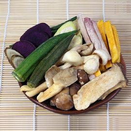 綜合菇菇蔬菜脆片^(150g嚐鮮包^)