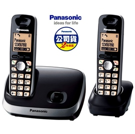 【國際牌】《PANASONIC》台灣松下◆雙手機無線電話機◆KX-TG6512/KXTG6512