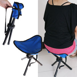 【Q禮品】三角童軍椅/登山椅/休閒椅/折疊椅,攜帶好方便,送禮自用都很實在